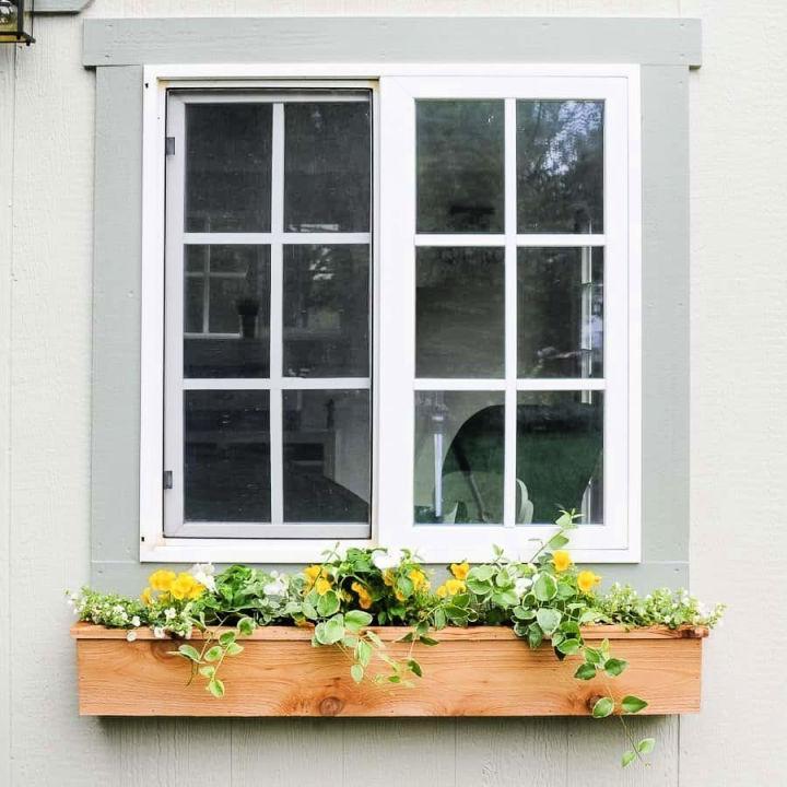 15 DIY Window Box Planter