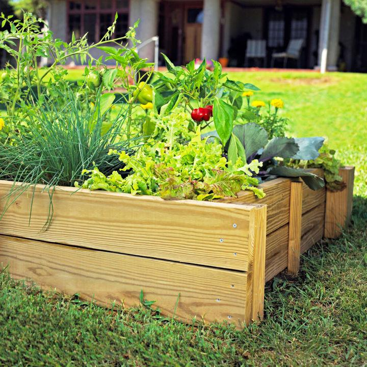 Build a Raised Garden Bed to Sell