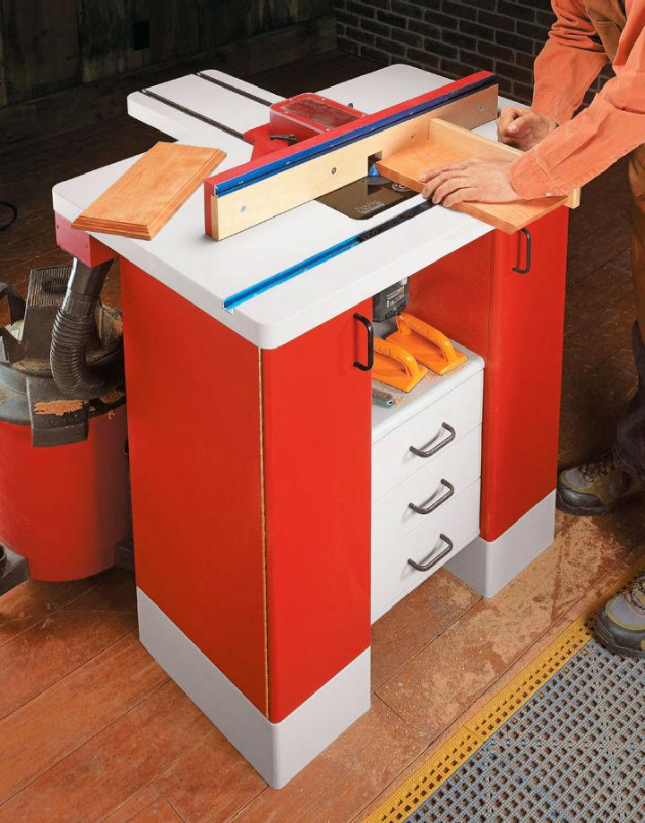 Build a Ultimate Router Table
