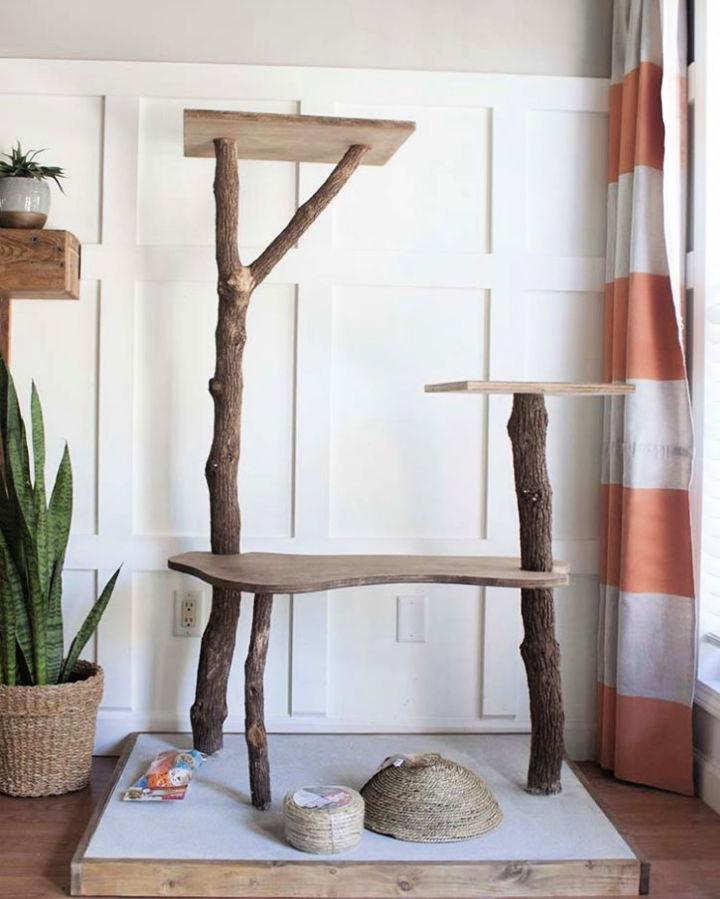 Building Cat Tree Play Tower