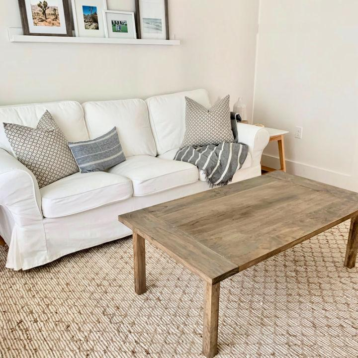 Building Your Own Coffee Table