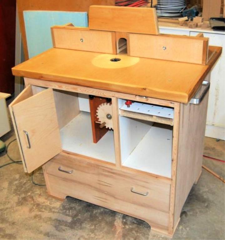 Cheap DIY Router Table