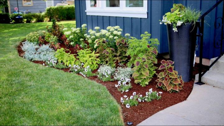 DIY Fall Flower Bed Flowerbed Makeover Start to Finish
