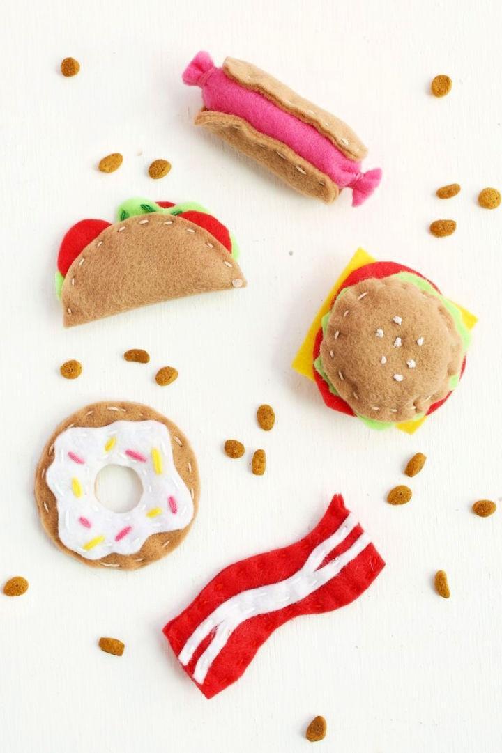 DIY Junk Food Cat Toy