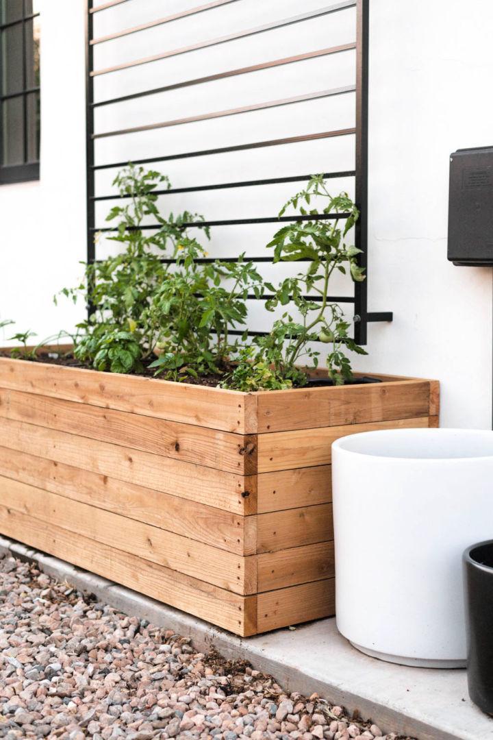DIY Vegetable Planter Box
