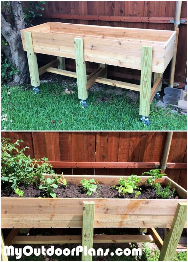 DIY Waist High Garden Bed