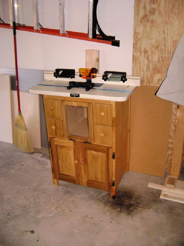 Easy to Make Router Table