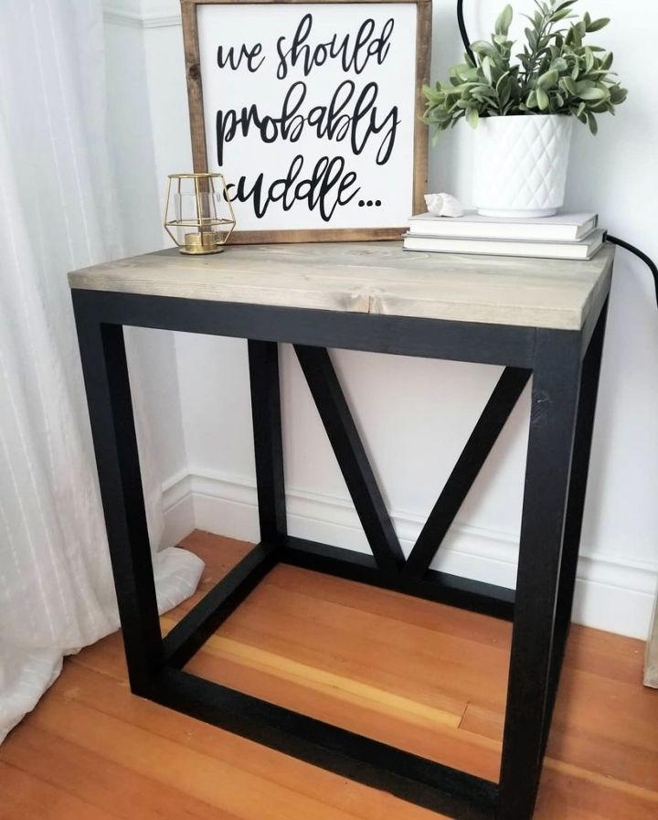 Homemade End Table