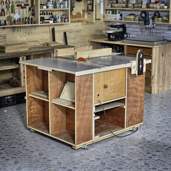 Homemade Router and Saw Table