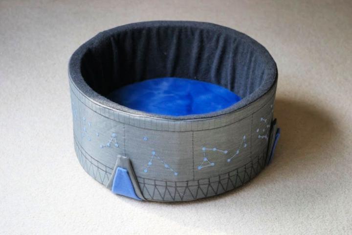 Homemade Stargate Cat Bed