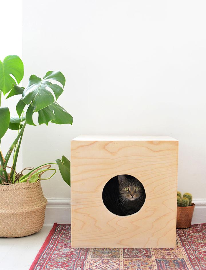 How To Build Wooden Cat Bed