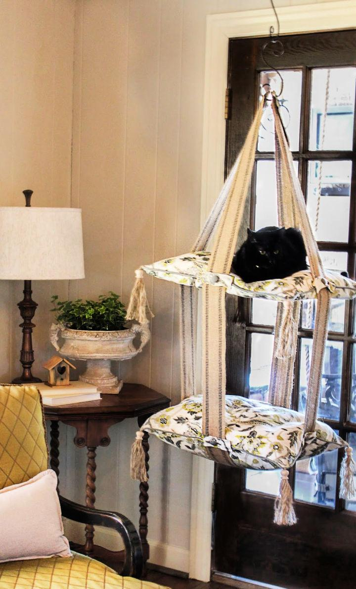 How To Make A Cat Swing Bed