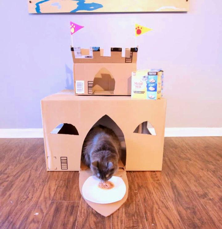 How to Build a Cardboard Cat House