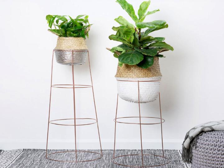 How to Create Metal Plant Stand