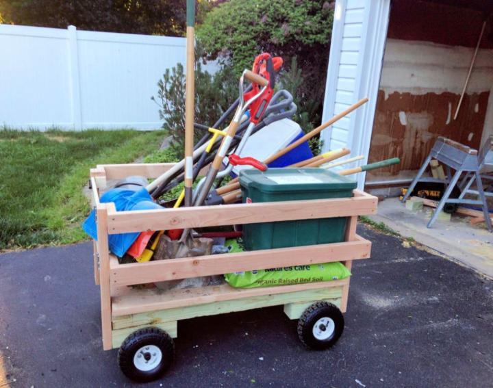 How to Make a Garden Utility Cart