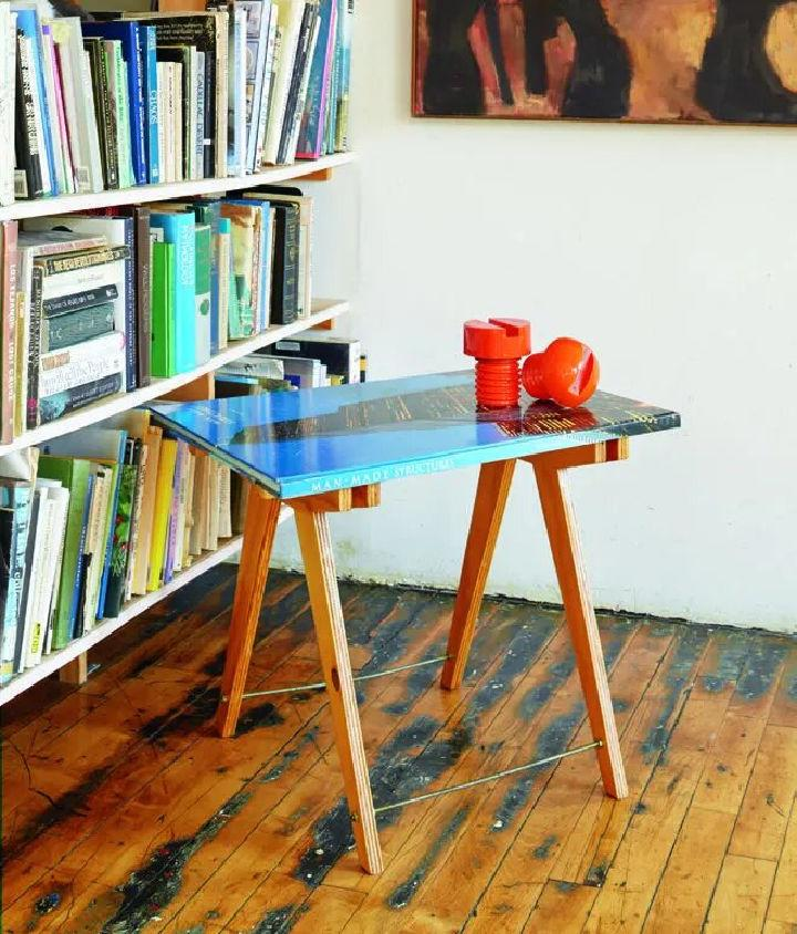 Large Book to a Coffee Table