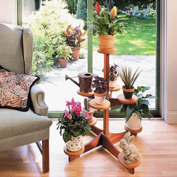 Multi level Indoor Plant Stand