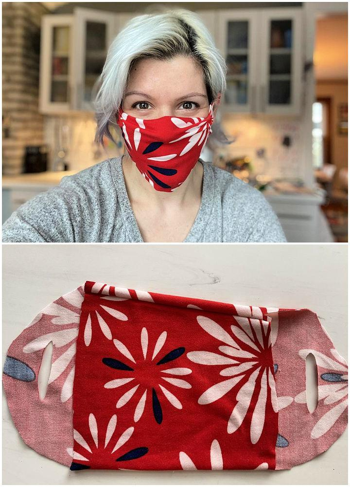 No sew Face Mask from Leggings