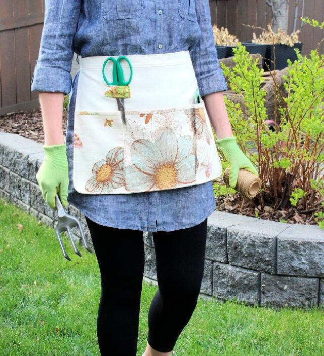 Sew Your Own Gardening Apron