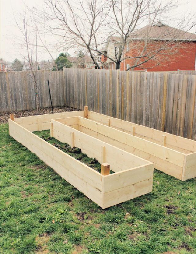 U Shaped Raised Garden Plan
