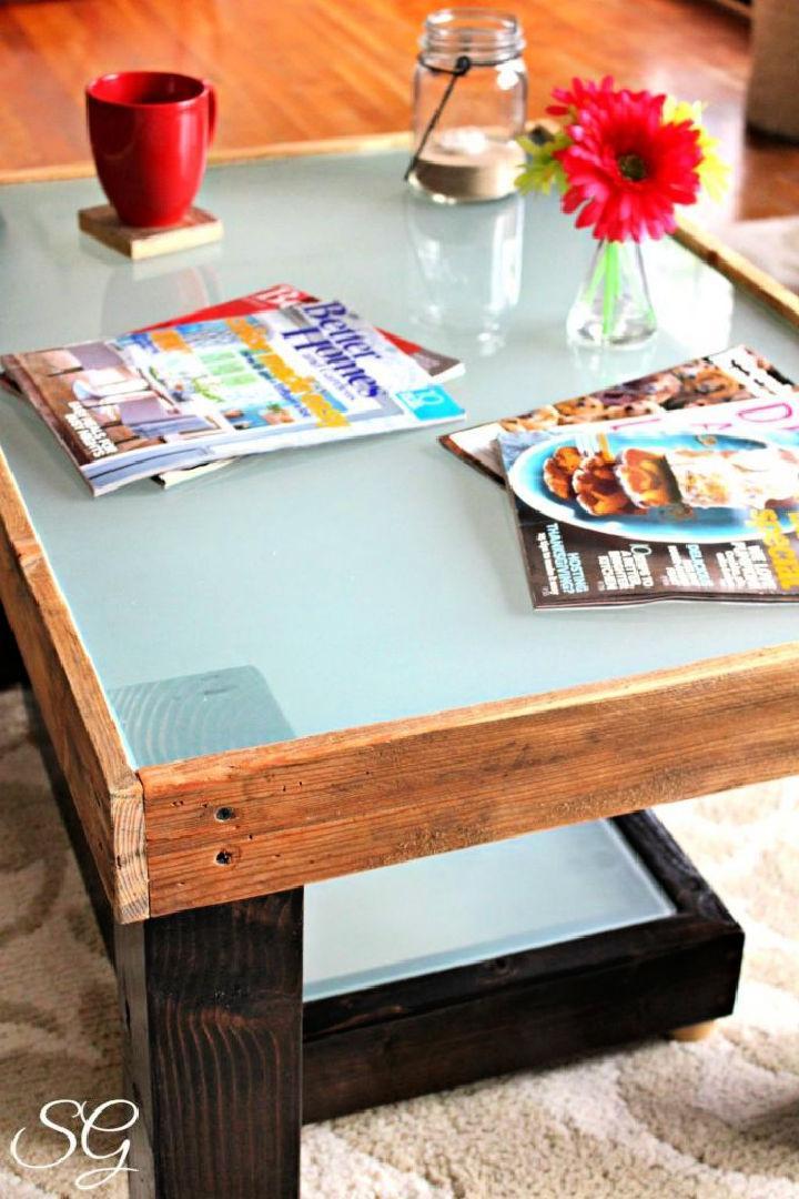 Upcycled DIY Coffee Table