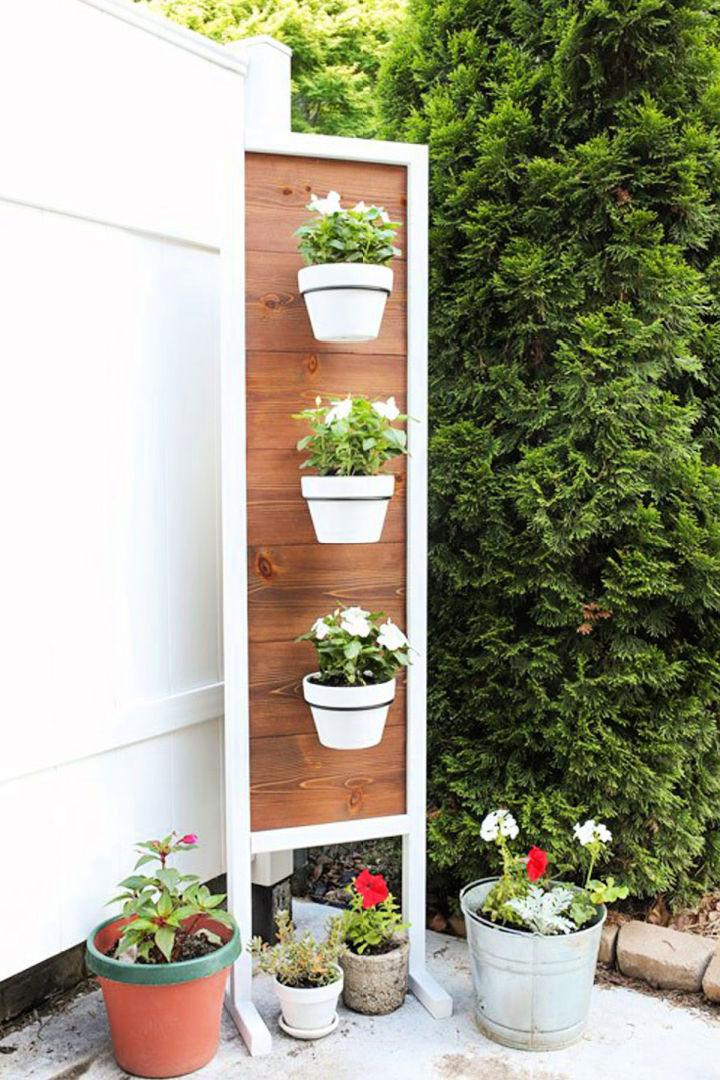 Vertical DIY Plant Stand