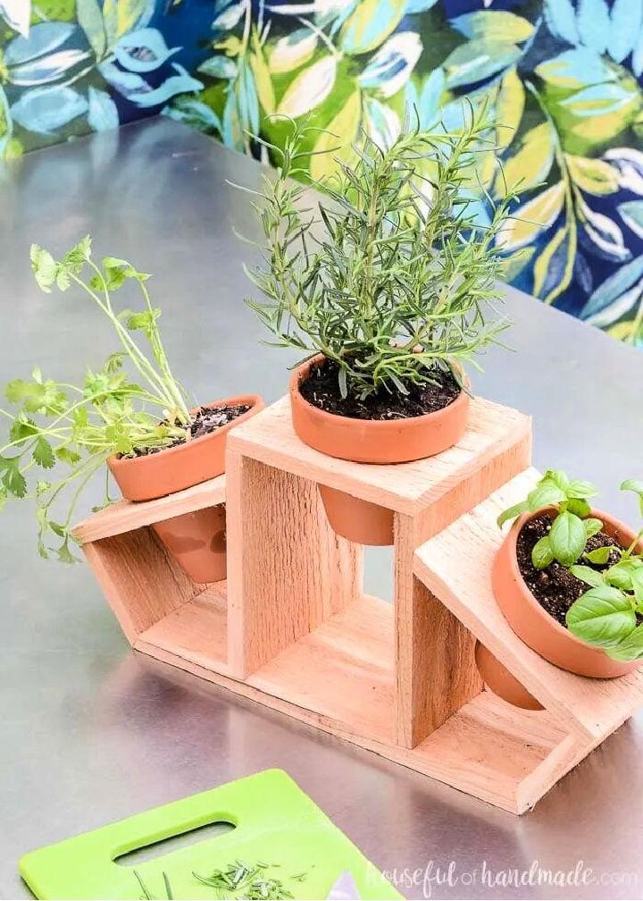 15 Minute Countertop Herb Garden