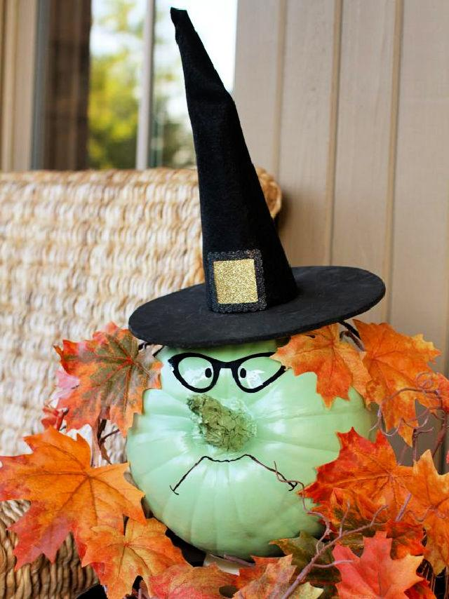 Bewitching Halloween Scary Pumpkin