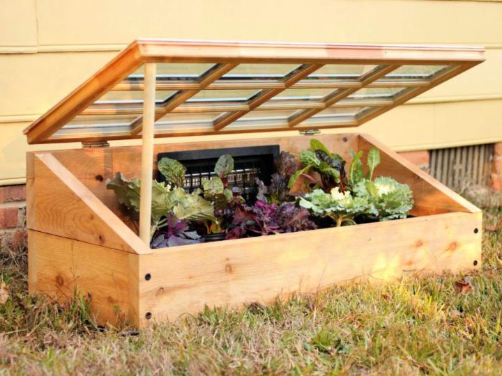 Build a Cold Frame Greenhouse
