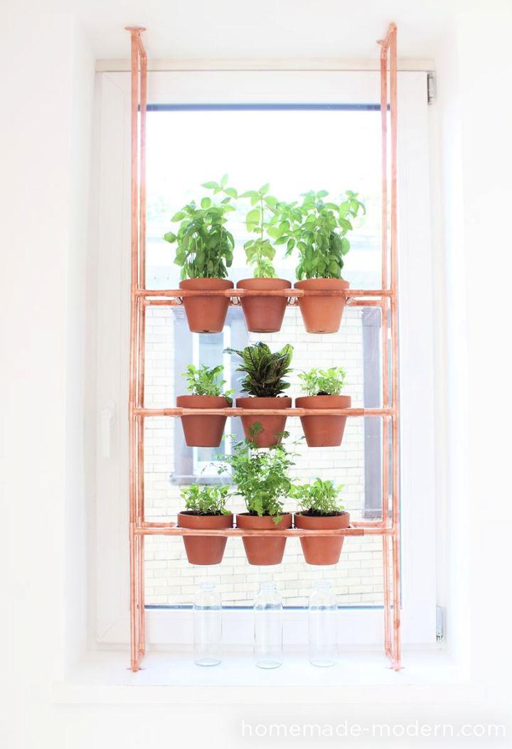 Copper Herb Garden