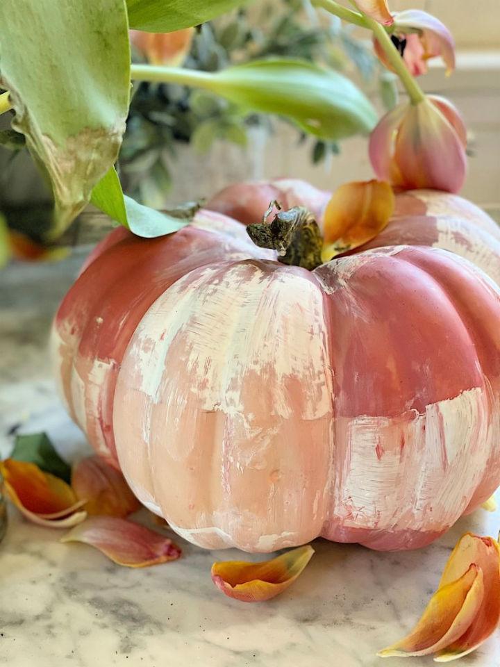 DIY Original Painted Pumpkin
