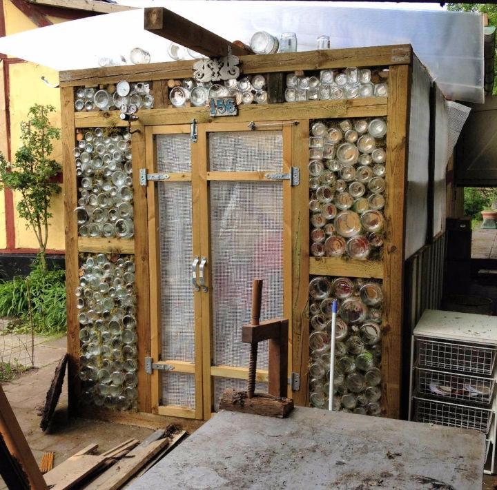 How to Make a Glass Jar Greenhouse