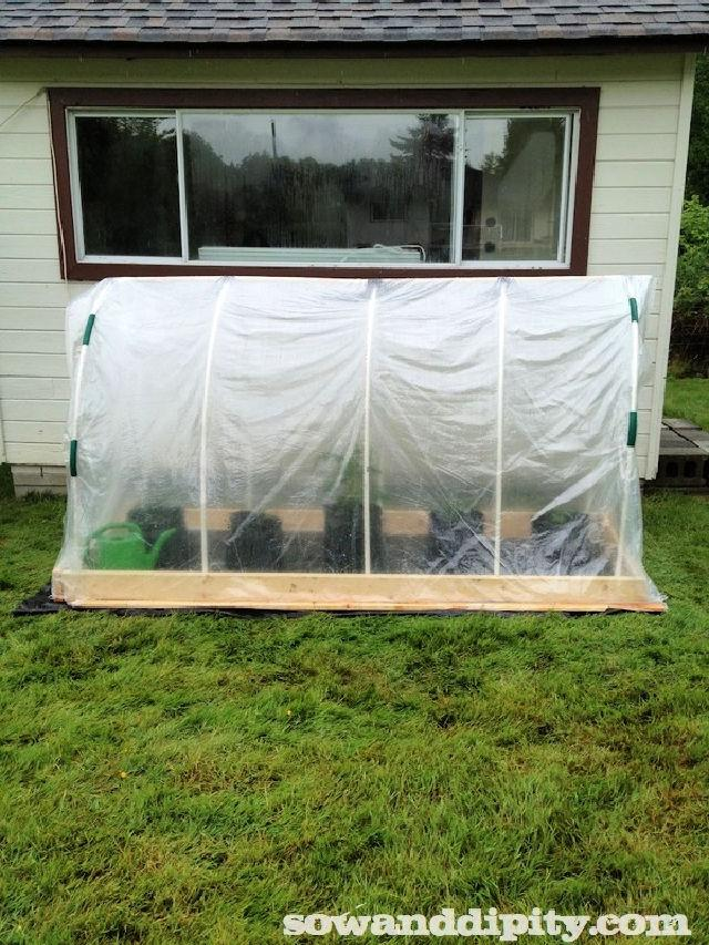 Make Your Own PVC Greenhouse