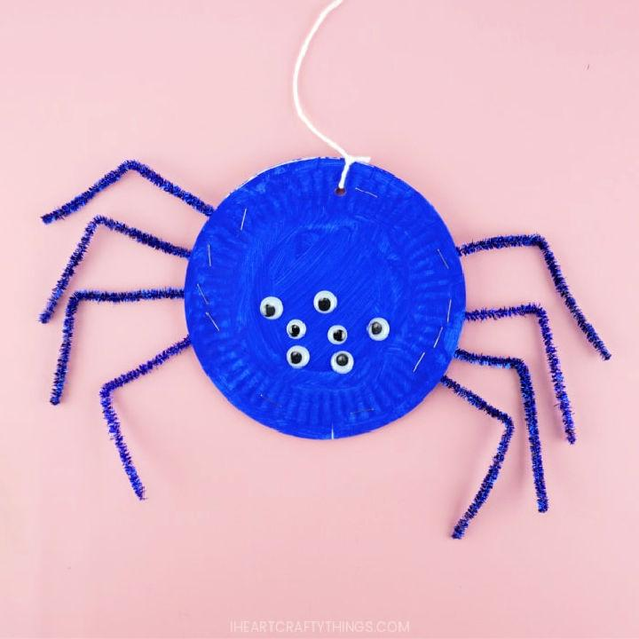 Make Your Own Paper Plate Spider