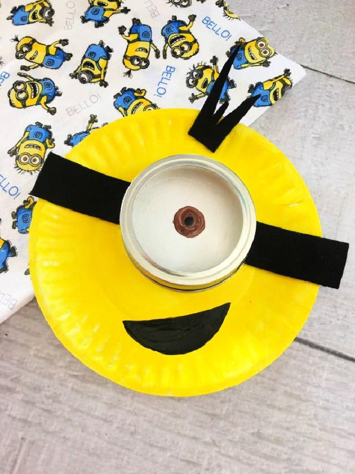 Minion Paper Plate for Kids