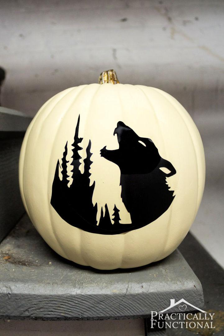 No Carve Glow in the Dark Pumpkins