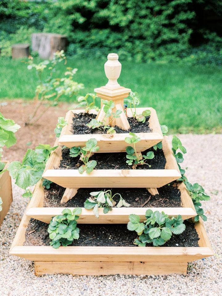 Outdoor Vertical Garden Plan