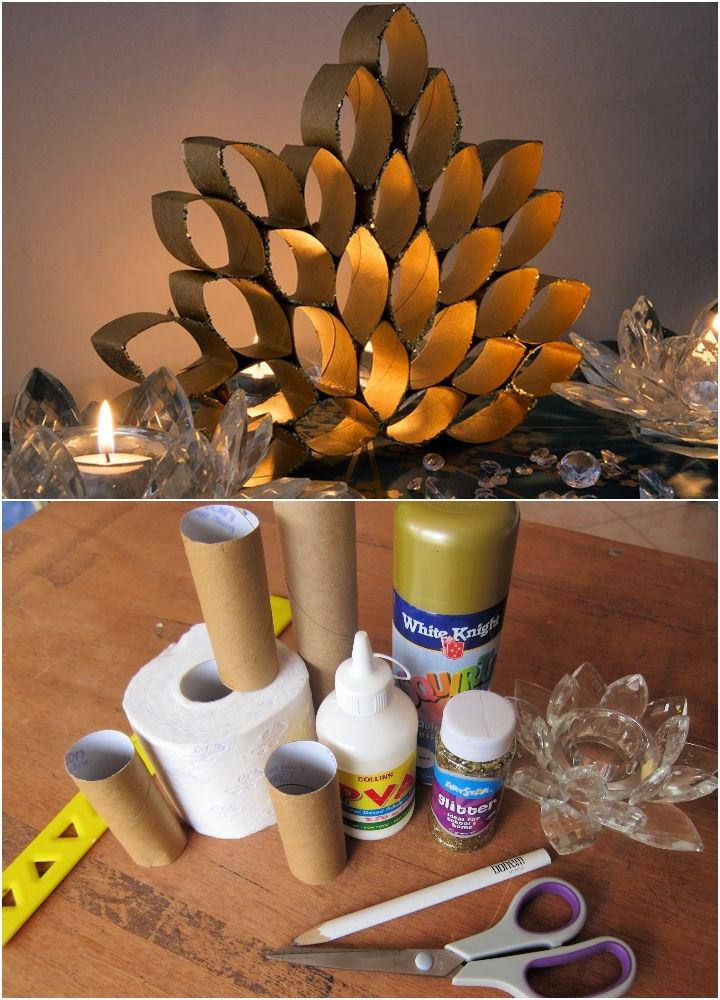 Recycled Toilet Paper Roll Art