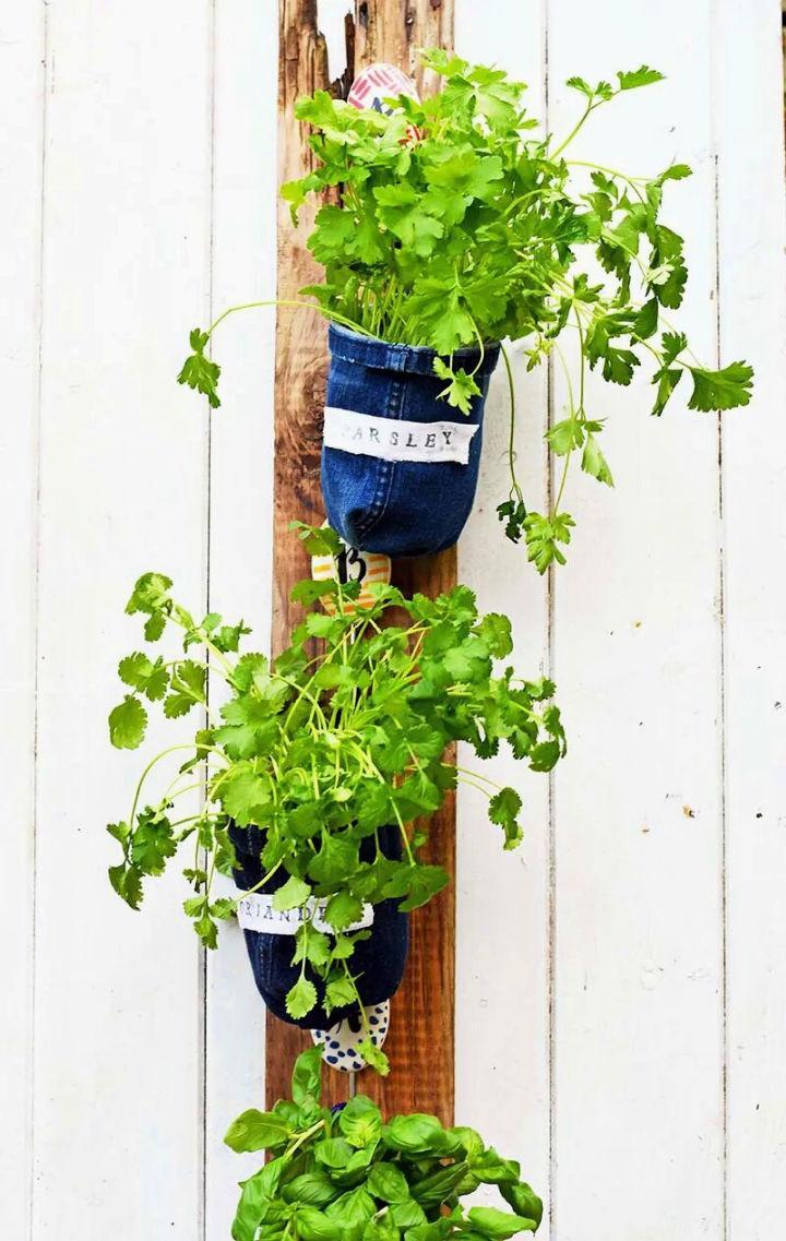 Vertical Herb Garden For Your Kitchen