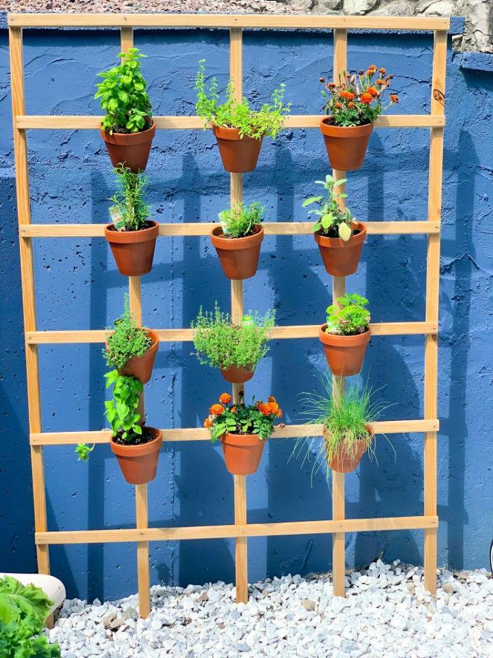 Vertical Herb Garden for Under $20