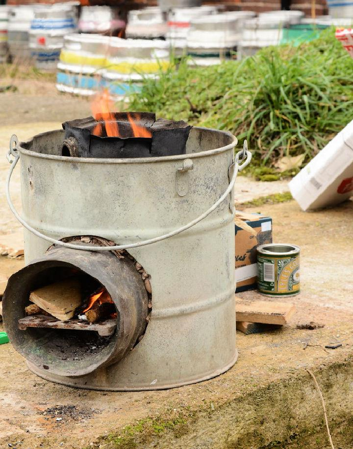 Build Your Own Rocket Stove