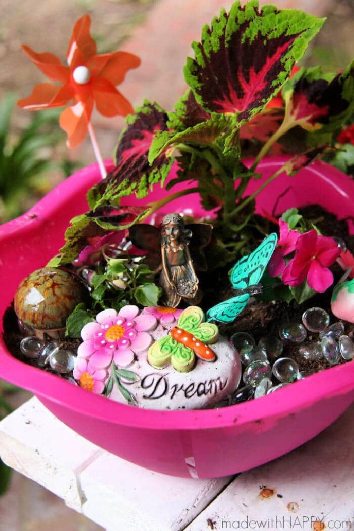 Create A Fairy Garden Craft