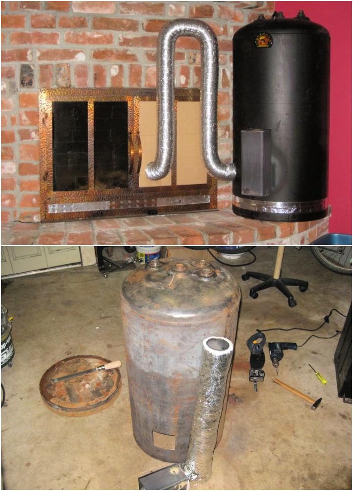 DIY Rocket Stove for Home Heating