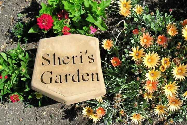 Engraved Garden Stepping Stone