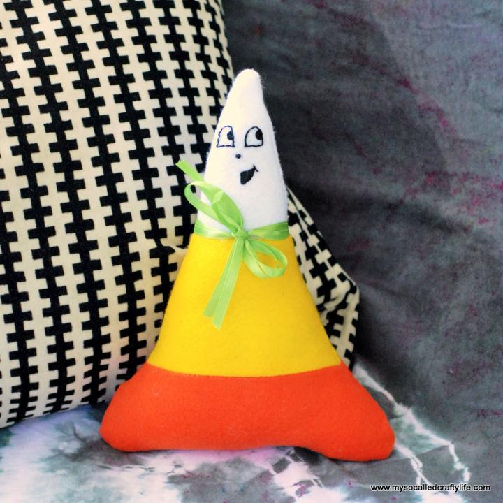 Felt Cute Candy Corn Plushie