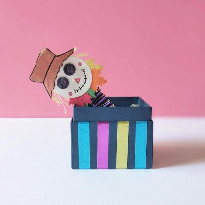 Fun Halloween Scarecrow Craft for Kids