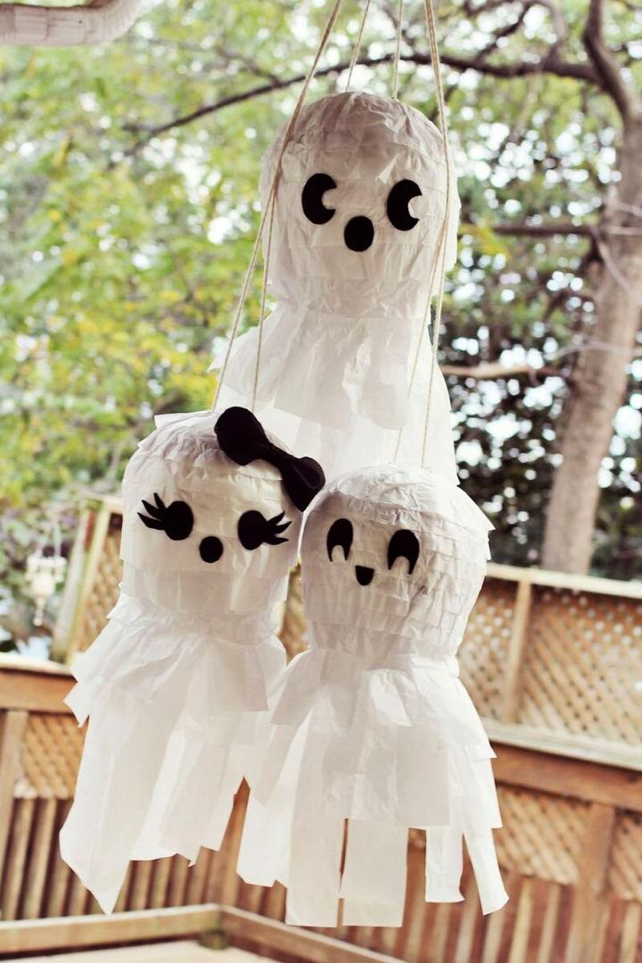 Ghost Family Pinata for Halloween Party