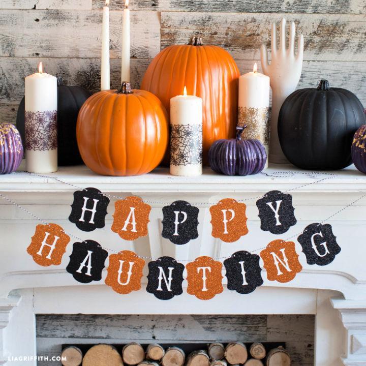 Happy Haunting Halloween Banner