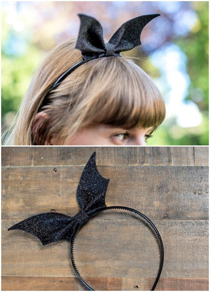 Make a Bat Wings Headband
