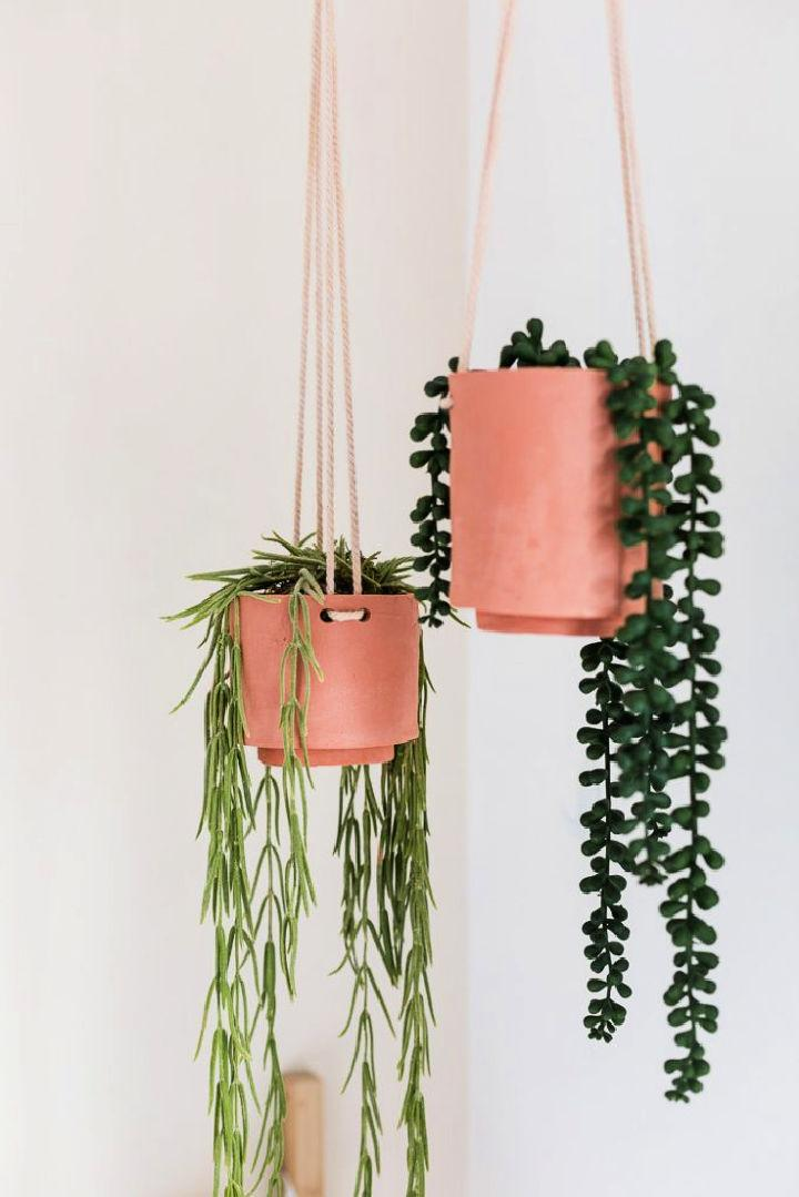 Terracotta Clay Hanging Planters